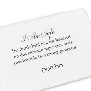 Pyrrha Talisman I Am Safe - Fifth Avenue Jewellers