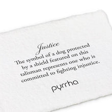Load image into Gallery viewer, Pyrrha Talisman Justice - Fifth Avenue Jewellers