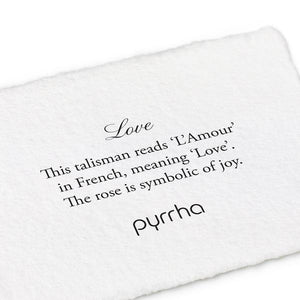 Pyrrha Talisman Love - Fifth Avenue Jewellers