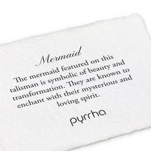 Load image into Gallery viewer, Pyrrha Talisman Mermaid - Fifth Avenue Jewellers