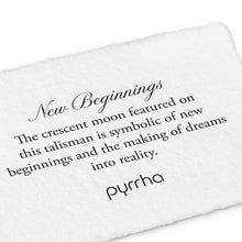 Load image into Gallery viewer, Pyrrha Talisman New Beginnings - Fifth Avenue Jewellers