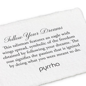 Pyrrha Talisman Ring Follow Your Dreams - Fifth Avenue Jewellers