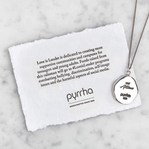 Pyrrha Talisman She Wore Her Scars Like Wings Limited Edition - Fifth Avenue Jewellers