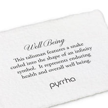 Load image into Gallery viewer, Pyrrha Talisman Well Being - Fifth Avenue Jewellers
