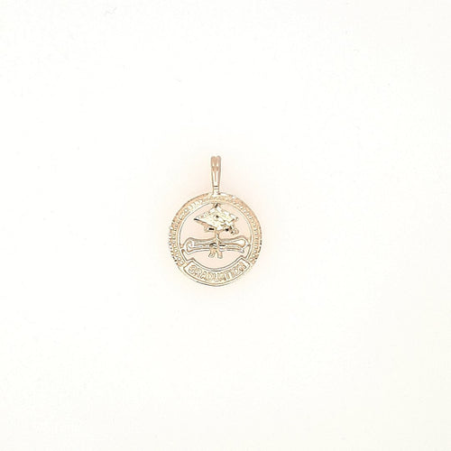 Round Graduation Pendant In Yellow Gold - Fifth Avenue Jewellers