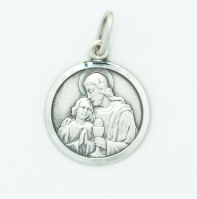 Silver Communion/Confirmation Medal - Fifth Avenue Jewellers
