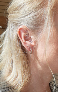 Small Half Hoops - Fifth Avenue Jewellers