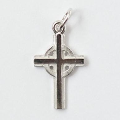 Small Silver Celtic Cross - Fifth Avenue Jewellers