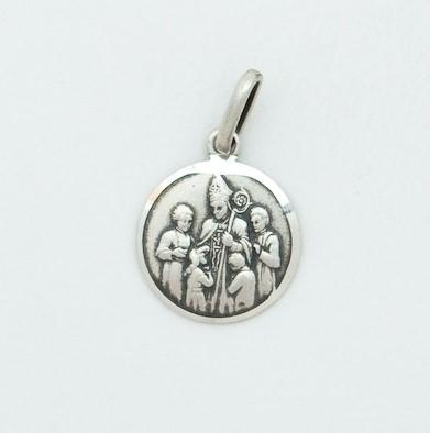 Sterling Silver Small Confirmation Medal - Fifth Avenue Jewellers
