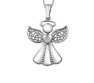 Sweet Angel Necklace - Fifth Avenue Jewellers