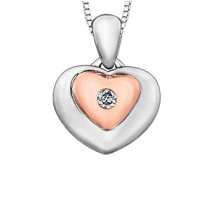 Sweet Heart Diamond Necklace - Fifth Avenue Jewellers