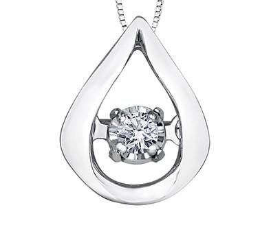 Tear Drop Pulse Pendant - Fifth Avenue Jewellers
