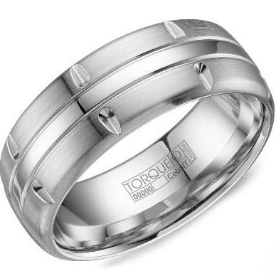 Torque By CrownRing Cobalt Wedding Band CB-8003 - Fifth Avenue Jewellers