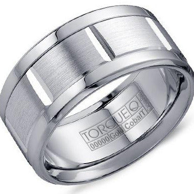 Torque By CrownRing Cobalt Wedding Band CW010MW105 - Fifth Avenue Jewellers