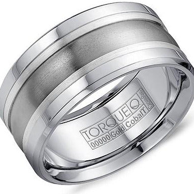 Torque By CrownRing Cobalt Wedding Band CW026ST105 - Fifth Avenue Jewellers
