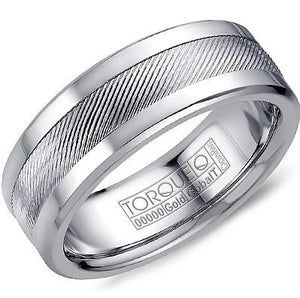 Torque By CrownRing Cobalt Wedding Band CW044MW75 - Fifth Avenue Jewellers