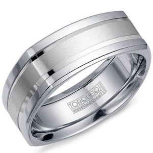 Torque By CrownRing Cobalt Wedding Band CW054NW75 - Fifth Avenue Jewellers