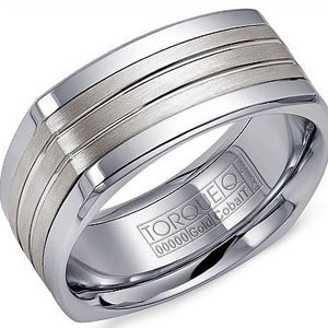 Torque By CrownRing Cobalt Wedding Band CW061SI9 - Fifth Avenue Jewellers