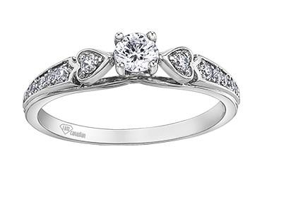 Vintage Style Engagement Ring - Fifth Avenue Jewellers