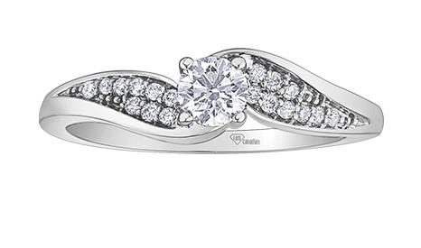 Wings of Canada Diamond Ring - Fifth Avenue Jewellers