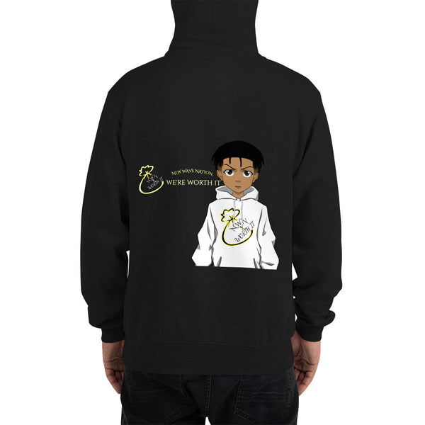 NWN Worth It and Champion Collab Hoodie