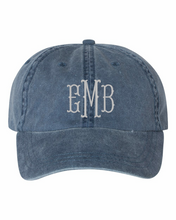Load image into Gallery viewer, Pigment Dyed Hat | Embroidery