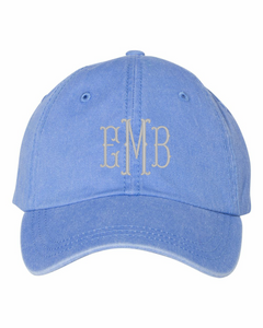 Pigment Dyed Hat | Embroidery