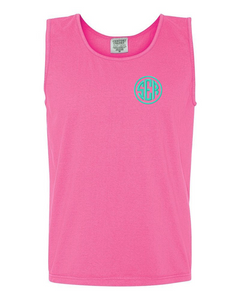 Comfort Colors Tank | Embroidery