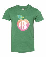 Load image into Gallery viewer, Watercolor Apple Monogram | Kids