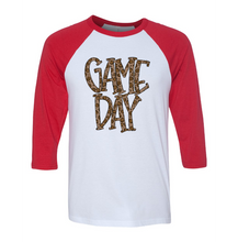 Load image into Gallery viewer, Game Day | Raglan Tee