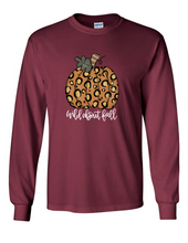"Load image into Gallery viewer, ""Wild About Fall"" Pumpkin Tee"