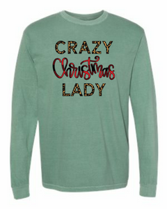 Crazy Christmas Lady