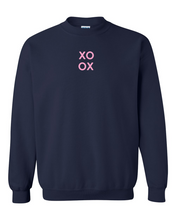 Load image into Gallery viewer, XOXO Stacked Sweatshirt
