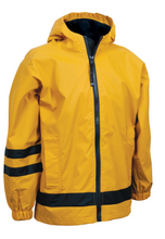 Load image into Gallery viewer, KID'S NEW ENGLANDER RAIN JACKET | MONOGRAMMED