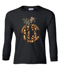 "Load image into Gallery viewer, ""Wild About Fall"" Monogram Youth Tee"