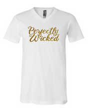 Load image into Gallery viewer, Perfectly Wicked | Vneck Tee
