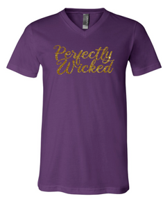 Perfectly Wicked | Vneck Tee