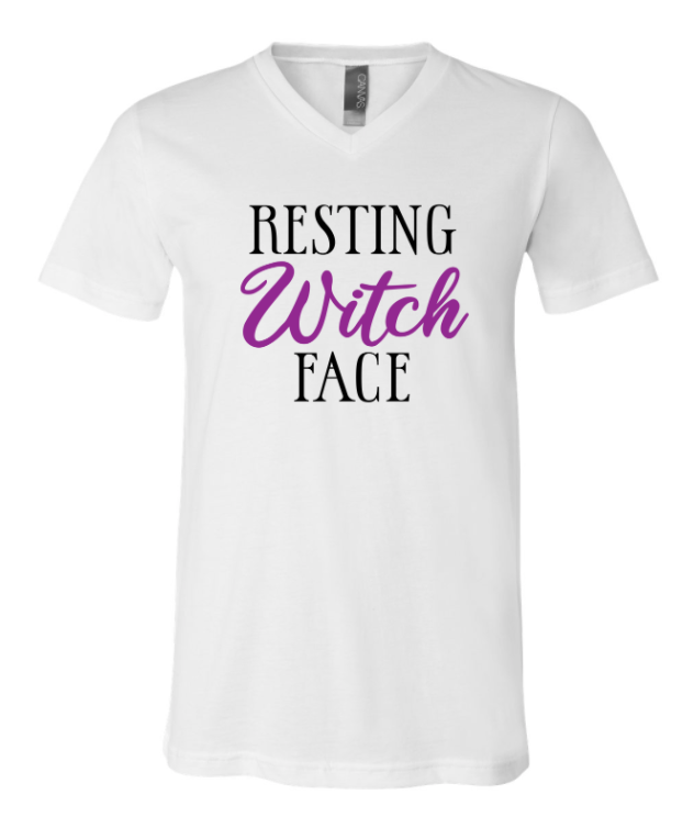 Resting Witch Face | Vneck Tee