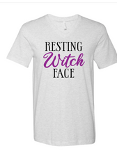 Load image into Gallery viewer, Resting Witch Face | Vneck Tee