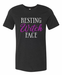 Resting Witch Face | Softstyle Tee