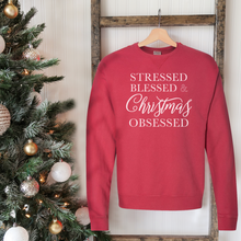 Load image into Gallery viewer, Christmas Obsessed Sweatshirt