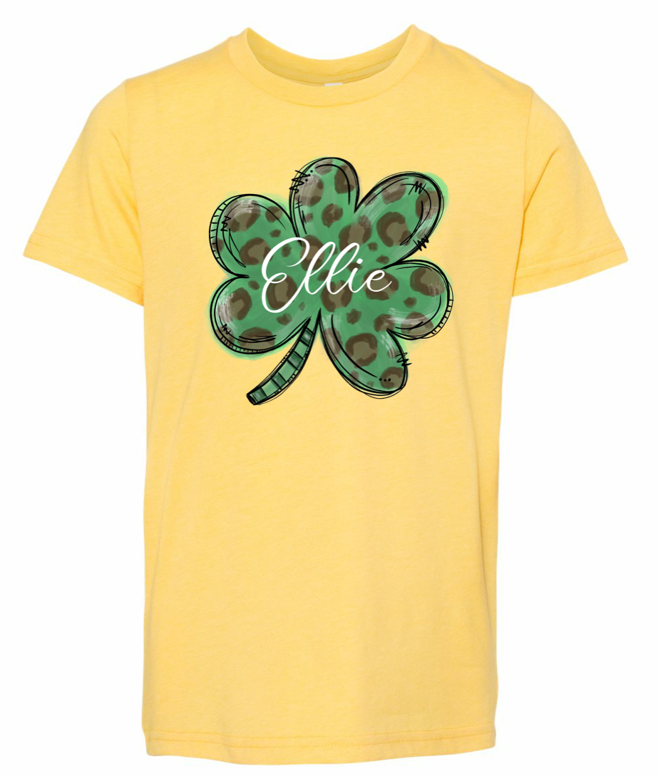 Lucky Shamrock | Kids | PERSONALIZED