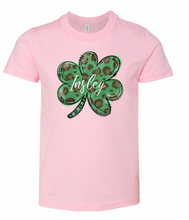 Load image into Gallery viewer, Lucky Shamrock | Kids | PERSONALIZED