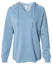 Load image into Gallery viewer, Cali Wash Vneck Hoodie