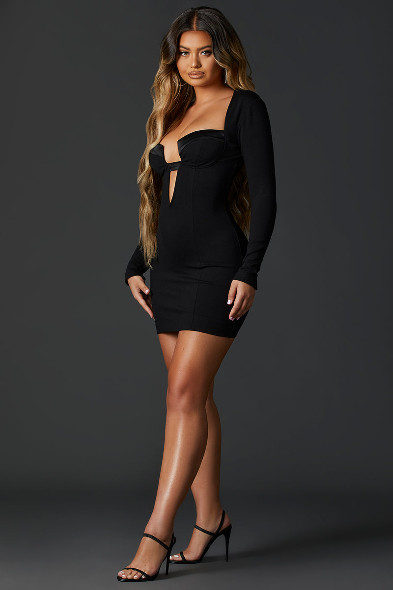 Black Va Va Voom Dress