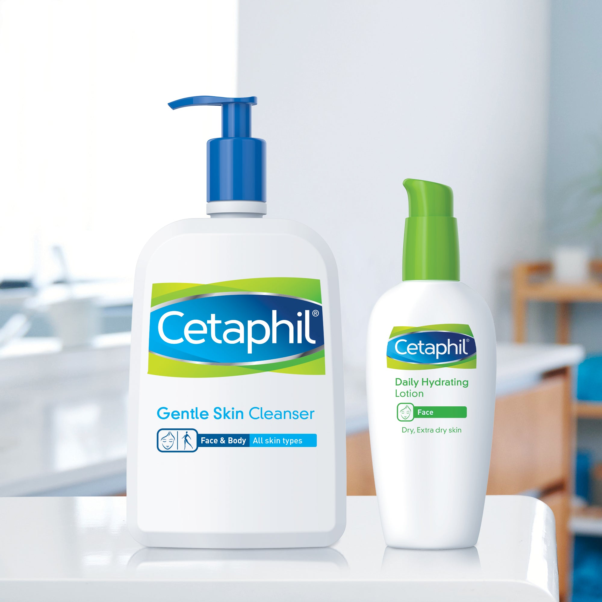 Cetaphil Gentle Skin Cleanser, Hydrating Face Wash & Body Wash, Ideal for Sensitive, Dry Skin, Fragrance-Free, 8 fl oz