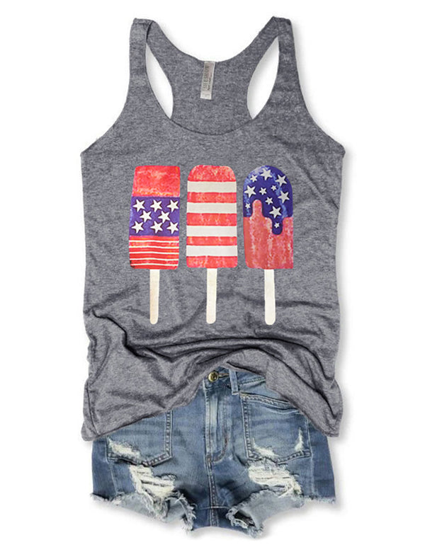 Patriotic Popsicle Tank Top