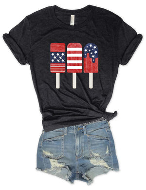 Patriotic Popsicle Graphic Tee