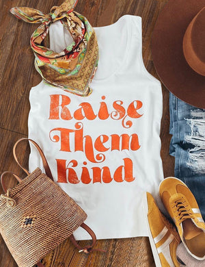 Raise Them Kind Tank Top