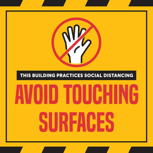 Social Distancing Sign - Building and Condo Kit